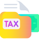 home services tax icon